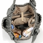The Marie Antoinette II Tote Diaper Bag by Timi & Leslie - Silver - click to Enlarge