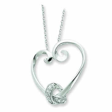 Tied To My Heart Necklace