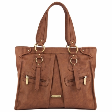 Dawn Caramel Diaper Bag by Timi & Leslie
