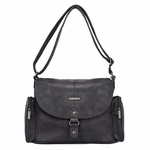 Timi & Leslie Metro Messenger SoHo Diaper Bag - Black