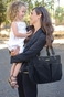 Timi & Leslie Tag-A-Long SoHo Tote Diaper Bag - Black - click to Enlarge