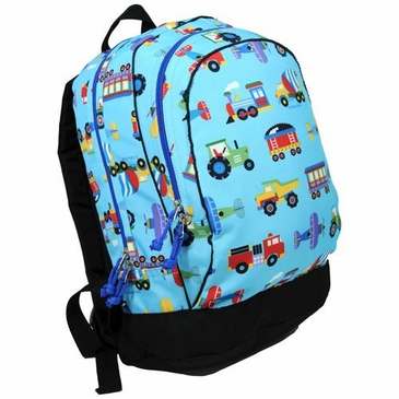 Trains, Planes and Trucks Kids Backpack