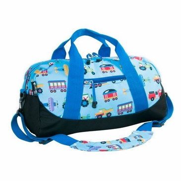 Trains, Planes and Trucks Kids Duffel Bag