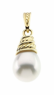 Twisted Pearl Pendant