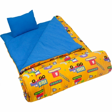 Under Construction Kids Sleeping Bag