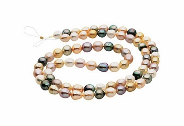White Cultured Pearl Strand