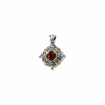 Women Fashion Mozambique Garnet Cabochon Pendant