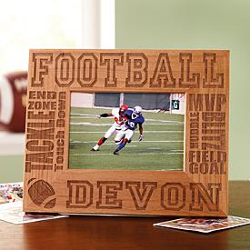 Wood Sports Kids Photo Frame