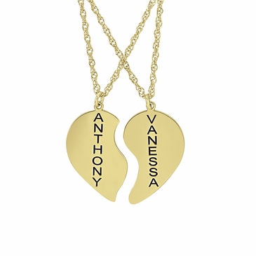 """You Complete Me"" Necklace Set - Personalized"