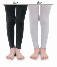 Toddler and Little Girl Holiday Sparkle Footless Tights
