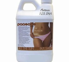 Paasche 128 Ounces Leisure Tan Tanning Solution contains 12% DHA