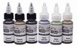 1oz Iwata Com-Art Airbrush Colors -  Photo Grays and Tints