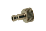 """AD9 Airbrush Quick Connect Plug 1/8"""" Male"""