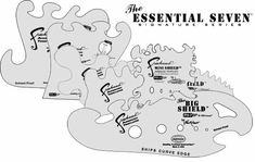 Artool Essential 7 Stencil Set - All 7 Stencils!