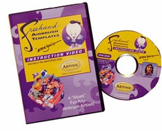 Artool� Freehand� Airbrush Template DVD by Eddie Young