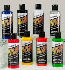 Auto-Air Colors - Semi-Opaques Transparents and Fluorescents - 4200 Series