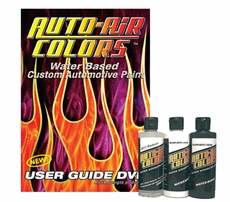 Auto-Air Users Guide DVD & 2oz. Paint Set