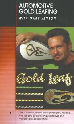 """""""Auto Gold Leafing with Greg Jenson"""" Airbrush Action DVD"""