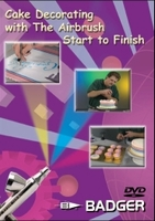 BD-108 Cake Decorating with Airbrush Start to Finish DVD from Badger Airbrush