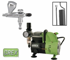 Grex Combo Kit with XA Airbrush & AC1810-A Compressor