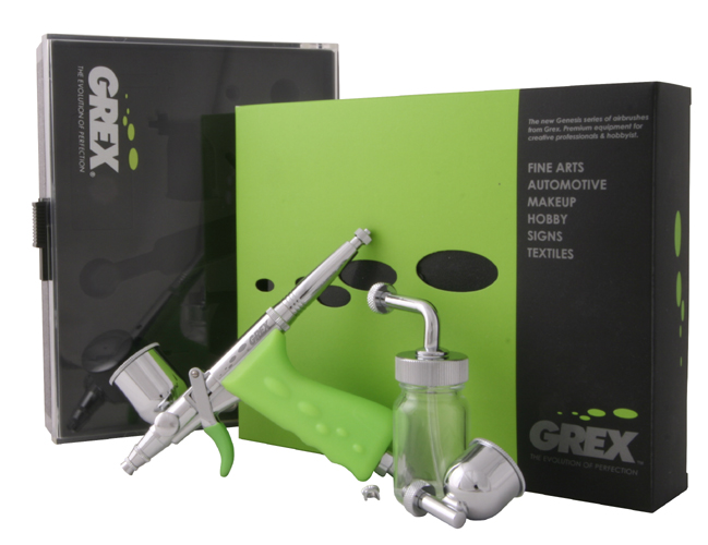 Grex Tritium.TS - Pistol Style Side-Feed Airbrush - Any Size!