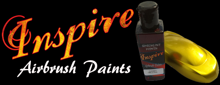 Inspire Solvent-Based Airbrush Paints