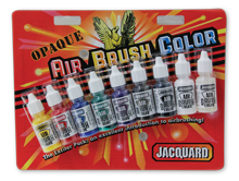 Jacquard Opaque Airbrush Exciter Pack - 1/2oz Bottle 8 Pack