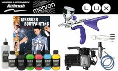 Mehron Lux / Harder Steenbeck Colani Body Painting Kit