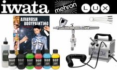 Mehron Lux Iwata Body Painting Intro Kit