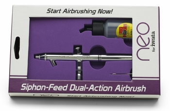 Neo for Iwata - BCN Bottle Feed Airbrush - Free Shipping!