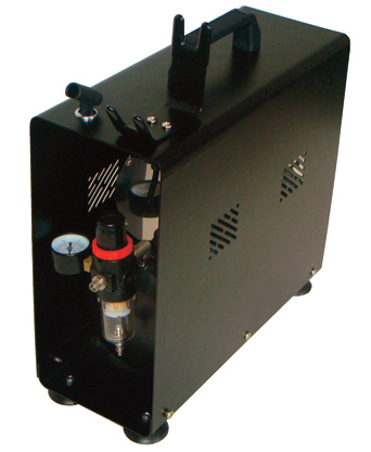 Paasche DC600R 1/6 HP Airbrush Compressor with 1 Gallon Tank