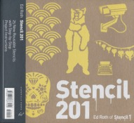 STENCIL 201 - 25 New Reusable Stencils With Step-By-Step Project Instructions