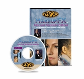Zazzo Makeup FX DVD for Film and Television Makeup