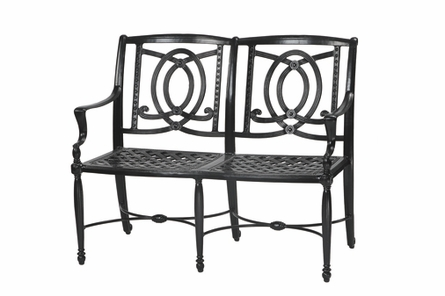 Bel Air By Gensun Luxury Cast Aluminum Patio Furniture Bench