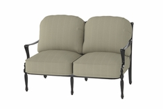Bel Air By Gensun Luxury Cast Aluminum Patio Furniture Loveseat