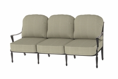 Bel Air By Gensun Luxury Cast Aluminum Patio Furniture Sofa