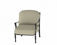 Bel Air By Gensun Luxury Cast Aluminum Patio Furniture Stationary Club Chair
