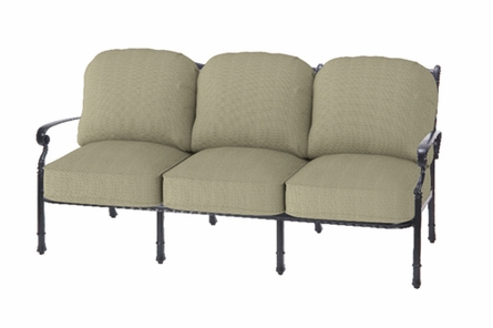 Bella Vista By Gensun Luxury Cast Aluminum Patio Furniture Sofa