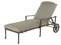 Berkshire By Hanamint Luxury Cast Aluminum Patio Furniture Chaise Lounge