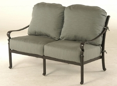 Berkshire By Hanamint Luxury Cast Aluminum Patio Furniture Loveseat