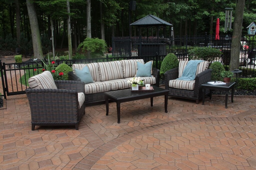 All weather wicker patio furniture all weather wicker for All weather outdoor furniture