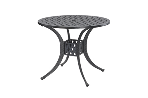 Coordinate By Gensun Luxury Cast Aluminum Patio Furniture Round - 36 round outdoor dining table