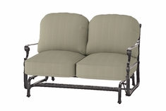 Grand Terrace By Gensun Luxury Cast Aluminum Patio Furniture Loveseat Glider