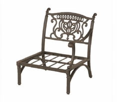 Grand Tuscany By Hanamint Luxury Cast Aluminum Patio Furniture Left Club Chair