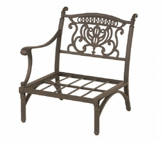 Grand Tuscany By Hanamint Luxury Cast Aluminum Patio Furniture Right Club Chair