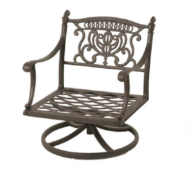 Miraculous Grand Tuscany By Hanamint Luxury Cast Aluminum Patio Bralicious Painted Fabric Chair Ideas Braliciousco