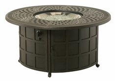 Hanamint Berkshire Outdoor Enclosed Gas Fire Pit