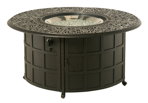 Hanamint Tuscany Outdoor Enclosed Gas Fire Pit