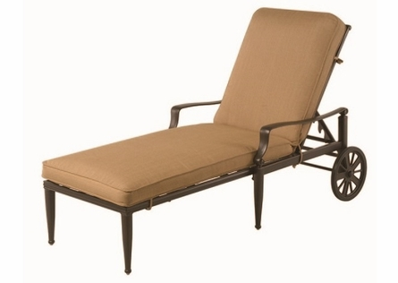 Lancaster By Hanamint Luxury Cast Aluminum Chaise Lounge
