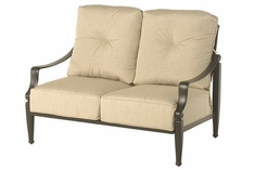 Lancaster By Hanamint Luxury Cast Aluminum Loveseat